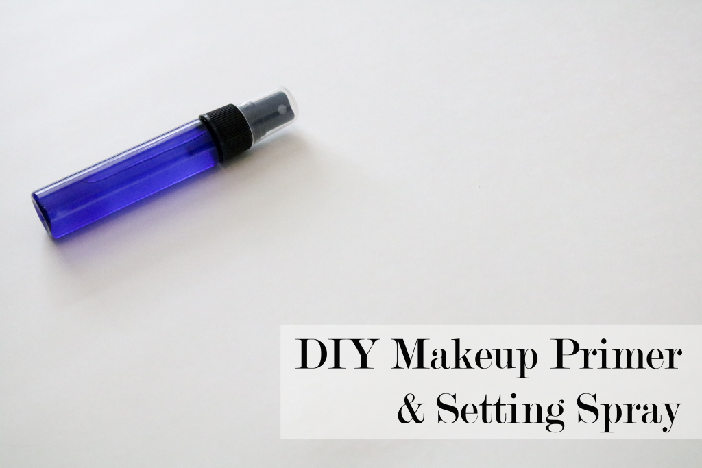 Diy all natural makeup primersetting spray fresh modesty one of the best ways to get your makeup to last longer and go on smoother is by beginning with primer and finishing with setting spray solutioingenieria Choice Image